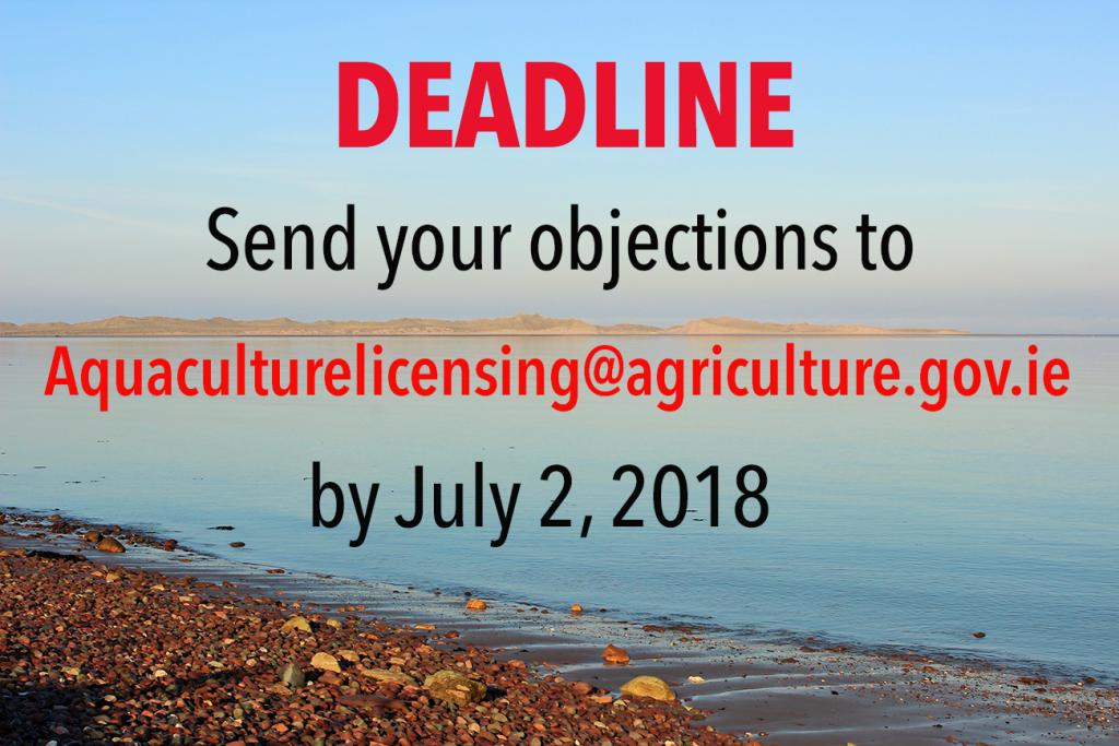 Deadline for applications